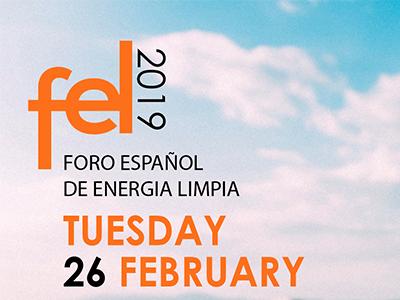 Fel2019 foro español de energía limpia