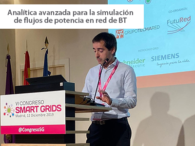 Ponencia en el VI Congreso de Smart Grids